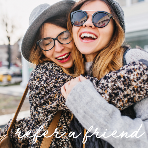 Refer a Friend for 20% off retail