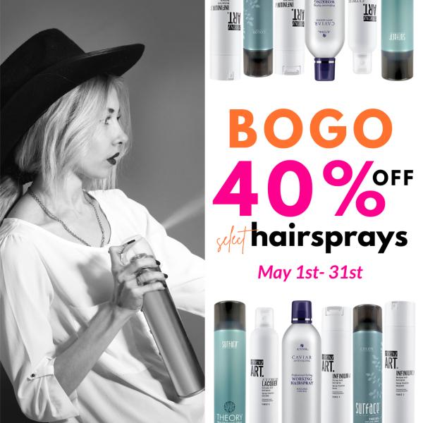 Wilsons - May Hairspray Sale